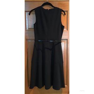 CALVIN KLEIN Womens Black Sleeveless Dress Size 4